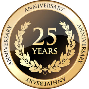 celebrating 25 years with 25% off