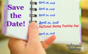 national nanny training day 2018