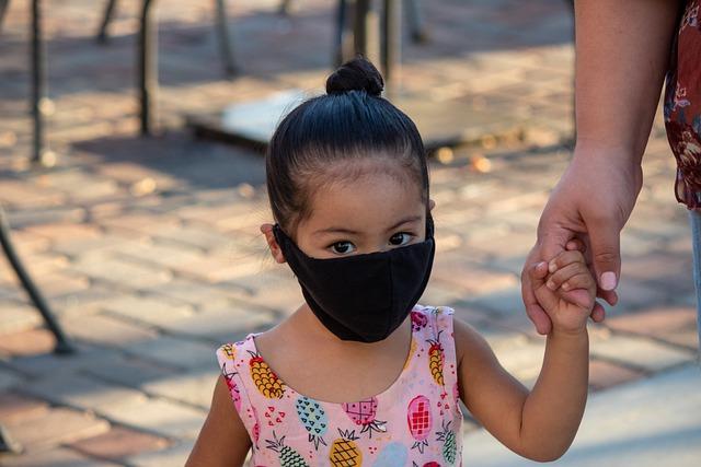 help children wear masks